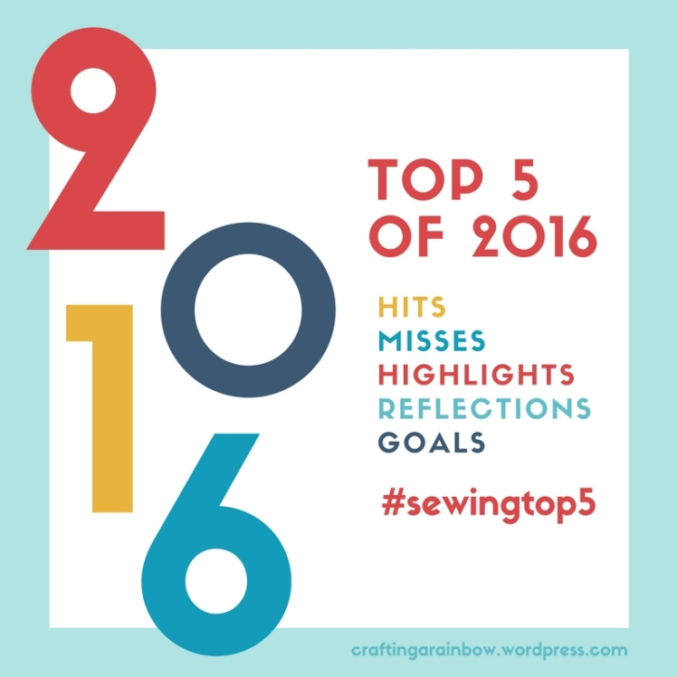 Top 5 of 2016